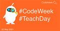 Első #CodeWeek #TeachDay online rendezvény