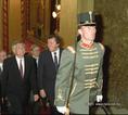 V. Klaus Budapesten tárgyal