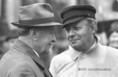 Kádár János és Helmut Schmidt a Kossuth Téren