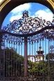 A keszthelyi Festetics-kastély kapuja