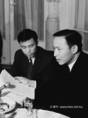 A Dél-Vietnami Köztársaság ideiglenes forradalmi kormányának küldöttsége a Magyar Sajtó Házában