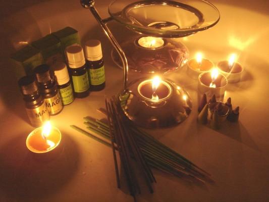 Aromaterápiás eszközök