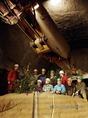 Karácsonyfa az alagútban