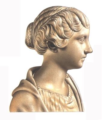 Római előkelő nő hajviselete