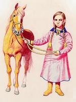 Magyar kislány 900