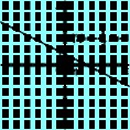 Az y=-1/2x+1 függvény