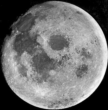 A Hold teljes korongja
