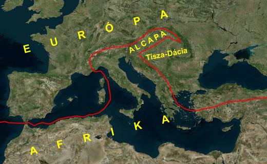 Afrika-Európa-határ-földtani-szerkezet