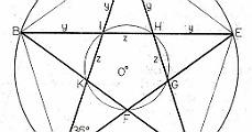 A pentagramm