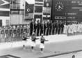 Montreáli olimpián első helyet szerző vízilabdázók