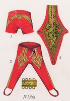 Huszártiszti nadrág (1840-1848)