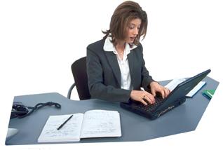 A laptop billentyűzete nem alkalmas hosszú munkavégzésre