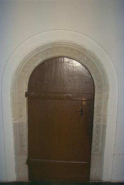 A nyírbátori plébániatemplom - reneszánsz boltíves ajtó
