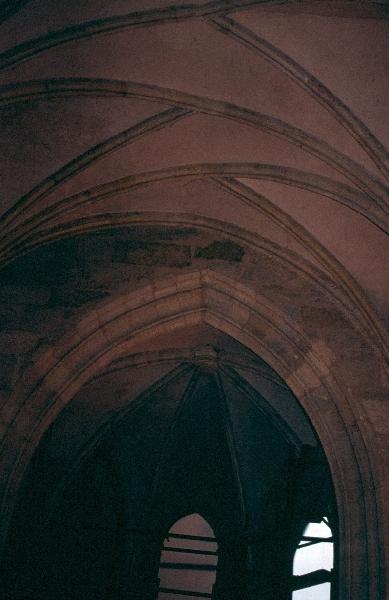 A győri székesegyház - a Héderváry kápolna váltóboltozata