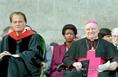 Billy Graham és Cserháti József pécsi megyéspüspök