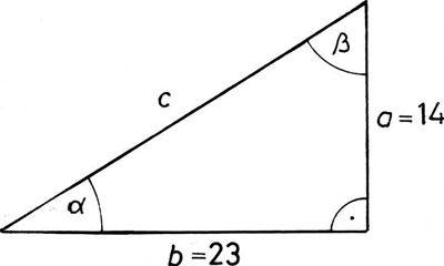 Derékszögű háromszög tételek