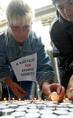 Demonstráció a kartali szeméttelep ellen