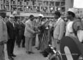 Sekou Touré látogatása Magyarországon
