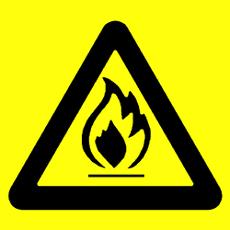 Háromszögletű figyelmeztető tábla
