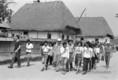 Az Európai Gyermektalálkozó résztvevői Szentendrén