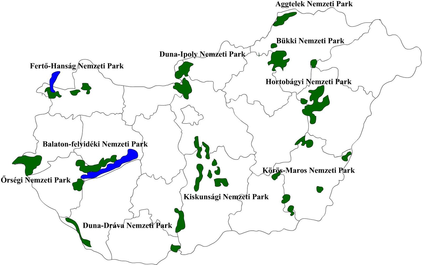Nemzeti Parkok Terkep Marlpoint