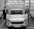 A háromszázezredik Trabant gépkocsi