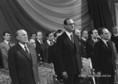 Kádár János és Jacques Chirac