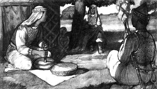 Asszonyok a honfoglaló magyarok korában