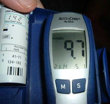 Vércukorszintmérő