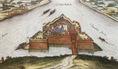 A Komáromi erőd a 16. század végén