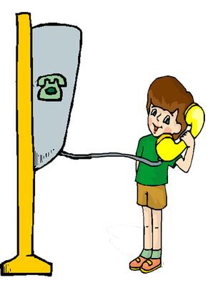 A mentők hívása telefonfülkéből
