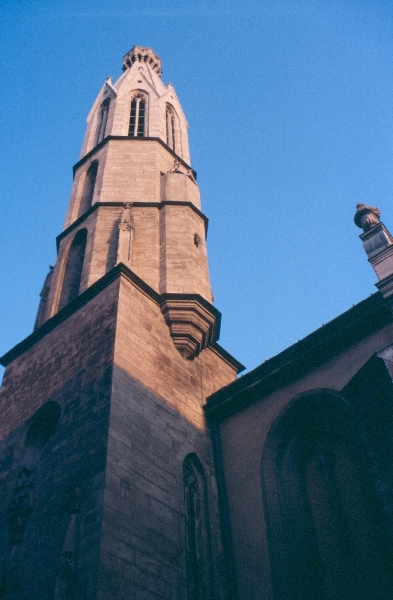 A soproni ferences kolostor tornya