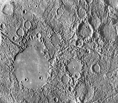 Becsapódási kráterek a Merkúr felszínén