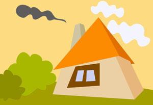 Egy ház rajza