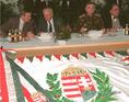 Az Okucaniba induló IFOR-katonák búcsúztatása Ercsiben