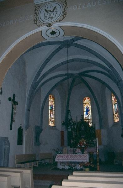 A csíkkarcfalvai plébániatemplom késő-gótikus szentélye