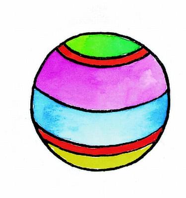 Egy csíkos labda
