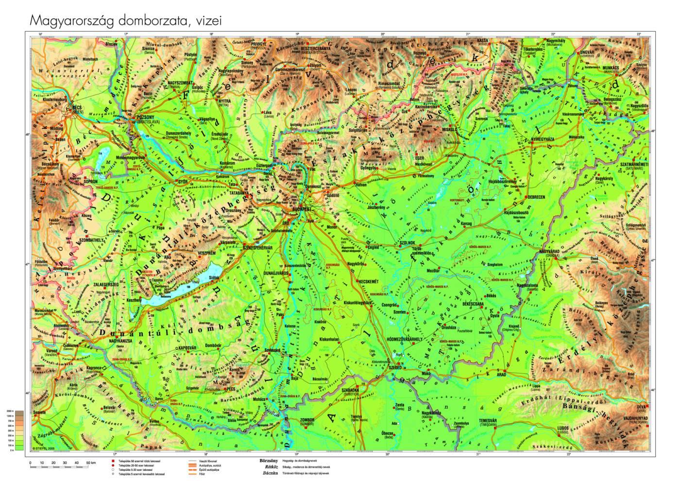 földrajzi térkép magyarország Közlekedési földrajz | SuliTudásbázis földrajzi térkép magyarország