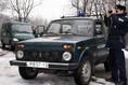 Határőr járőr autó (Niva)