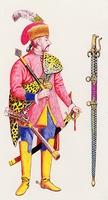 Erdélyi huszártiszt gyalog (1680)
