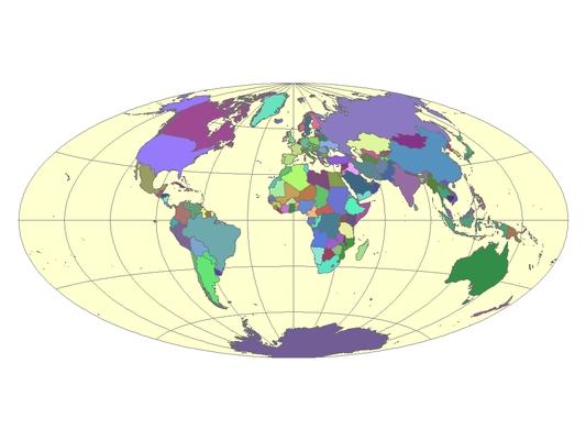 Ovális térkép