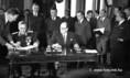 A magyar-jugoszláv egyezmény aláírása