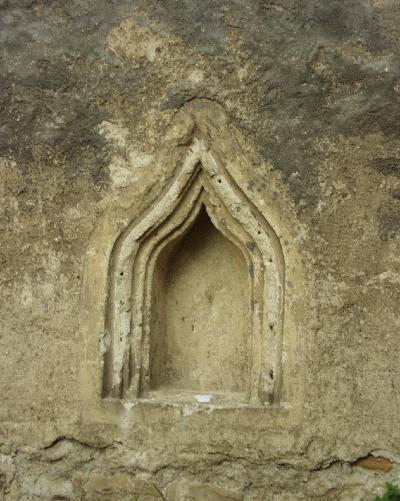 Az avasi Szent István plébániatemplom - a sekrestye szentségfülkéje