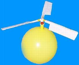 Propelleres léggömb