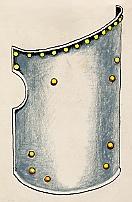Vas tárcsapajzs (1500)