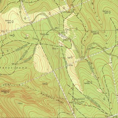 Topgráfiai térkép