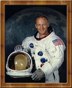 Buzz Aldrin amerikai asztronauta