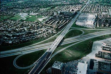 Nagyváros körüli úthálózat