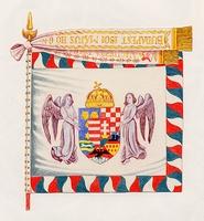 Honvéd huszárezred zászlója (1867-1918)