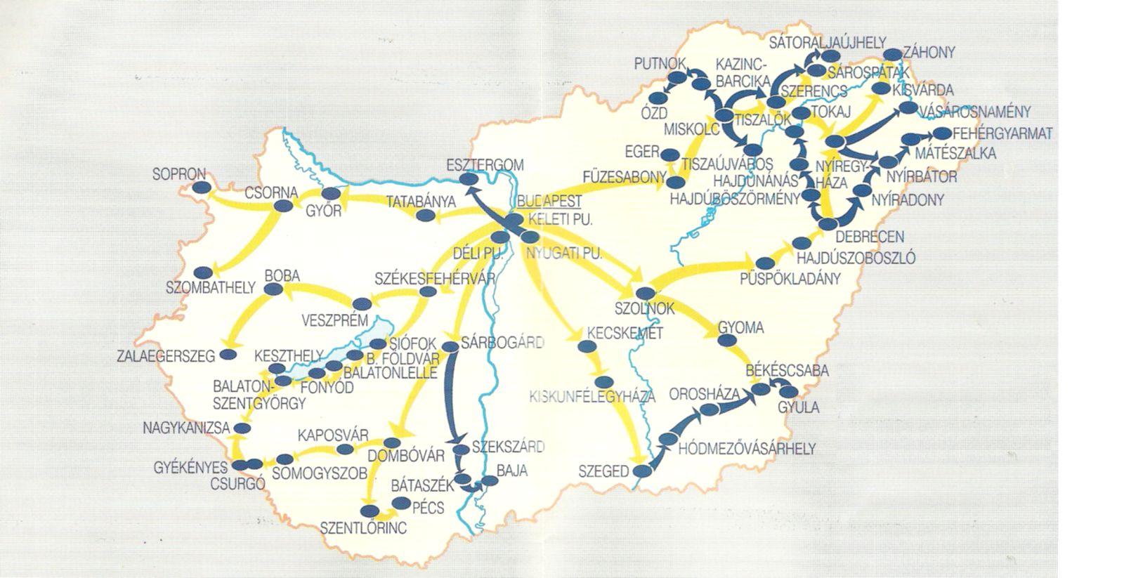 magyarország térkép gyékényes Közlekedési földrajz | SuliTudásbázis magyarország térkép gyékényes
